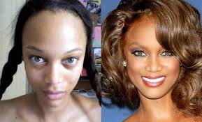 victorias secret models with and without makeup