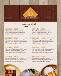 sample menu card 35 download in psd pdf word