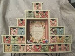 12 days of christmas advent calendar scrapbook com kathi u0027s