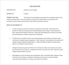 10 account manager job description templates u2013 free sample