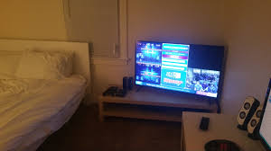 tv in middle of room where will the nintendo switch live in your tv unit setup