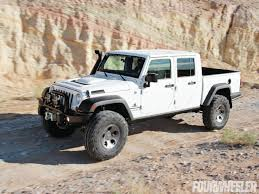 jeep brute 4 door rubicon4wheeler a closer look at aev s new jeep pickup