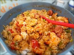 cuisiner des saucisses fum馥s recette de jambalaya de poulet crevettes et saucisses fumées la