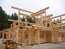 Slokana Log Home Log Cabin Log Home Log Cabin Building Process Explained By Slokana Log