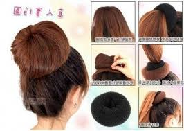 hairstyles with a hair donut donut bun hairstyles for long hair pertaining to encourage
