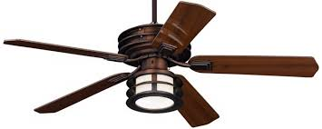Outdoor Ceiling Fans With Light 52 Casa Vieja Mission Ii Bronze Outdoor Ceiling Fan