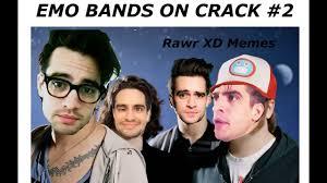 Emo Band Memes - emo bands on crack 2 youtube