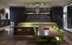 Kitchen With Dining Table Element Swap Whipple Russell Architects