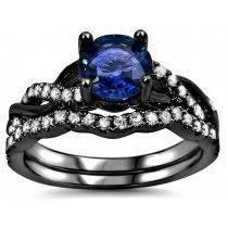 sapphire engagement rings buy blue sapphire engagement rings shop now and save