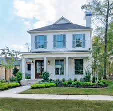 large efficient home design with southern design accents vintage