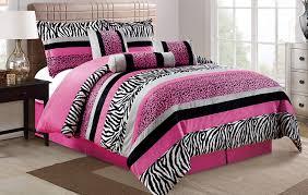 Black Comforter King Size Girls Pink And Black Bedding Ktactical Decoration