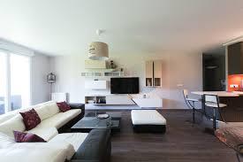 comment decorer une cuisine ouverte agréable comment decorer un salon 12 grand salon avec vue sur un
