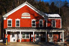 bureau de poste hotel de ville bureau de poste dans une vieille ville américaine photo stock