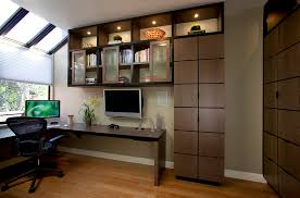 Custom Built Desks Home Office Sliding Glass Door Window Treatments Home Office Contemporary With