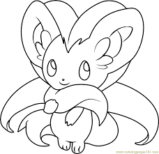 pokemon coloring pages of snivy adorable snivy coloring pages artsybarksy