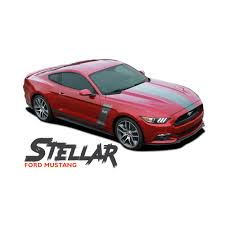 decals for ford mustang ford mustang stellar and side door vinyl graphic