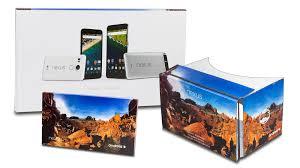 nexus google cardboard incentive for new nexus 5x and nexus 6p