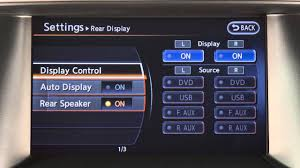 nissan pathfinder youtube 2015 2015 nissan pathfinder setting button if so equipped youtube