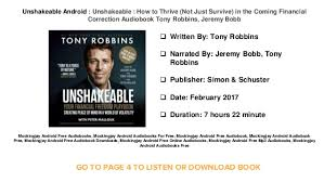 audible for android audible books free unshakeable android unshakeable how to thrive