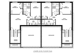 twin home bi level opt a jordahl custom homes