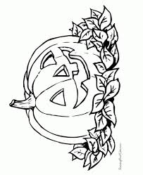 stylish printable pumpkin coloring pages with regard to really