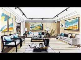interior sketches how to sketch interior design youtube