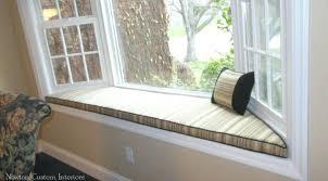 Making A Bay Window Seat - window seat pillows u2013 throwpillow info