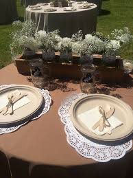 wedding plates cheap 38 rustic disposable plates rustic country chic jar wedding