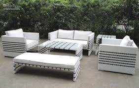 White Patio Furniture Set 2018 Black White Rattan Sofa Set Garden Outdoor