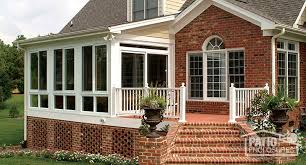 All Season Patio Enclosures Sunroom Decor Ideas All Seasons Sunrooms Nature Appealing Brick