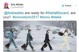 Funny Snow Meme - internet jokers see funny side of storm stella in a series of