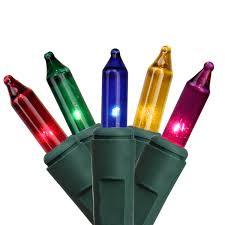 halloween twinkle lights set of 100 multi color synchronized musical mini christmas lights