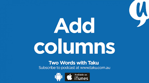 How To Type Resume In Word With The Accents Episode 16 U2013 Rogue Resumes To Cvs 1 Add Columns Taku Mbudzi