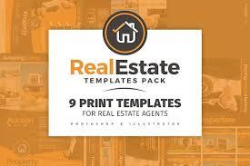 real estate brochure template pack brochure templates creative