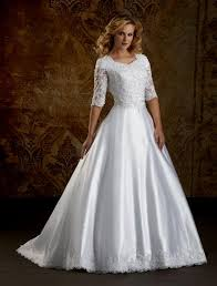 modest wedding dresses cheap astonishing modest wedding dresses with 3 4 sleeves 56 for
