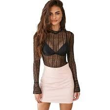 see thru blouse pics high neck see through blouse urbanized apparel store