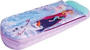 kids child junior girls camping sleepover airbed sleeping bag