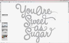 vector typography tutorial adobe illustrator photoshop tutorial create melted chocolate type
