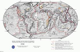 Blank Map Of Tectonic Plates by 100 Map Of The Earth Map In The Earth Make A Map Of Using