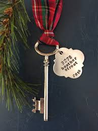 Inexpensive Housewarming Gifts by New Home Ornament Skeleton Key Ornament First Christmas
