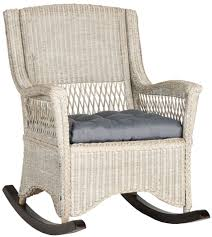 Wicker Rocking Chairs For Porch Sea8036a Rocking Chairs Furniture By Safavieh