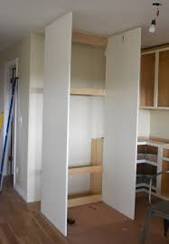 how to build a cabinet around a refrigerator boxing in fridge with cabinetry momplex vanilla kitchen