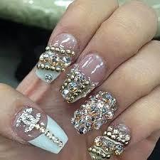 138 best super bling nails images on pinterest bling nails