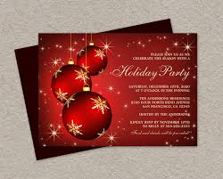 Christmas Ornament Party Invitations - diy printable holiday party invitations elegant christmas