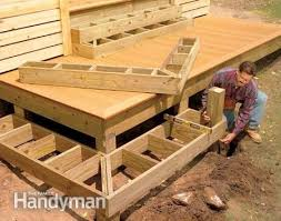 how to build the deck of your dreams corner deck deck stairs