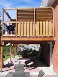 Deck To Sunroom Lively Sunroom Addition Deck Guard Up With Privacy Wall