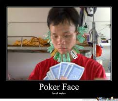 Poker Meme - poker face by random meme center