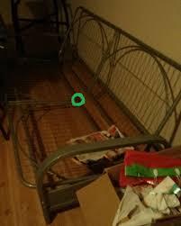 broken metal futon frame tube rod general diy discussions diy