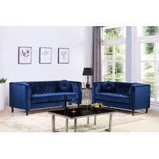 Blue Living Room Furniture Sets Blue Living Room Sets You Ll Wayfair