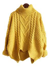 knitted sweater arletha turtleneck knitted sweater 4 colors